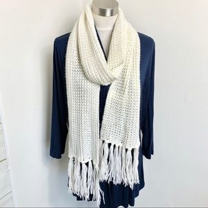 Women's knitted scarf - H&M